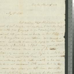 Document, 1780 April 26