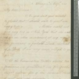 Document, 1820 August 04