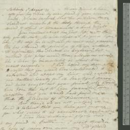 Document, 1822 August 02