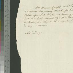 Document, 1795 November 30