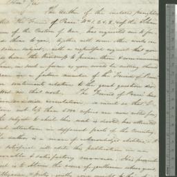 Document, 1816 April 02