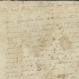 Document, 1786 March 29