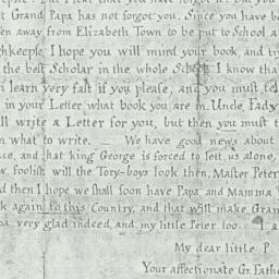 Document, 1783 February 13