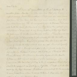 Document, 1820 January 06
