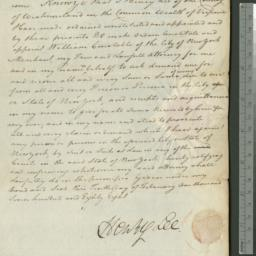 Document, 1788 February 10