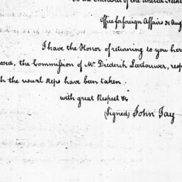 Document, 1785 August 31