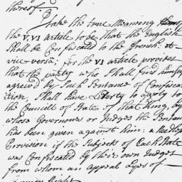 Document, 1718 n.d.