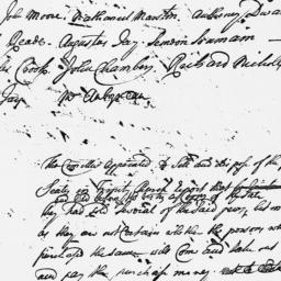 Document, 1738 July 11