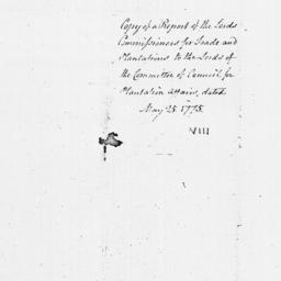 Document, 1775 May 25