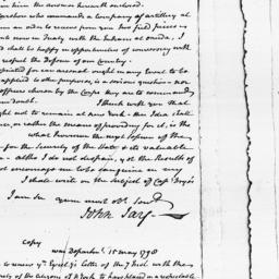 Document, 1798 June 04